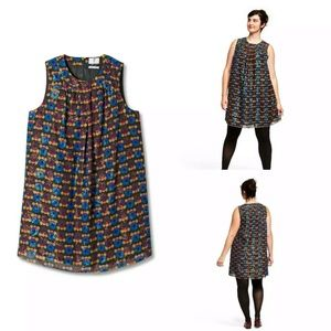 Anna Sui x Target Plus Size Circle Party Dress NEW